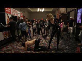 Mona Wales - The Filthiest Fucking Slut: Mona Wales Degrades Tony Orlando in Public [Femdom, Strapon, Pegging, Anal Fisting]