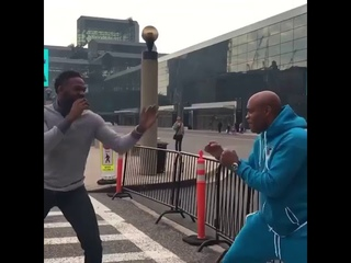 Anderson Silva & Jon Jones Sparring