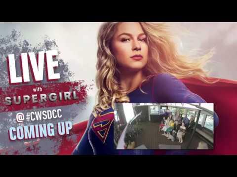 Supergirl cast on SDCC 2018 - Intervew (rus sub)
