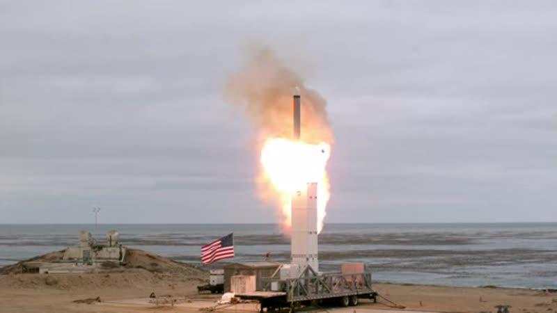 DoD conducts grount test new medium range missile