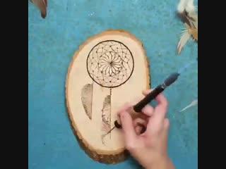 Ловец снов на дереве