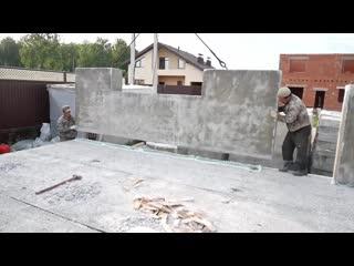 Каменный дом за 1 день своими руками. Пошаговая инструкция