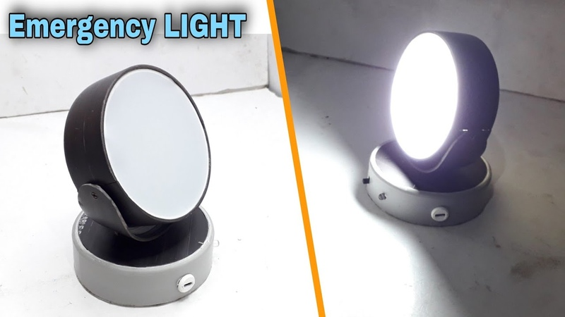 Make Ur Wish Smart Tube Led Emergency Light Lantern Emergency Light kaise banaye