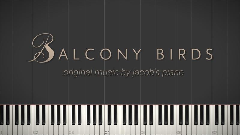 Balcony Birds \\ Original Composition \\ Synthesia Piano Tutorial