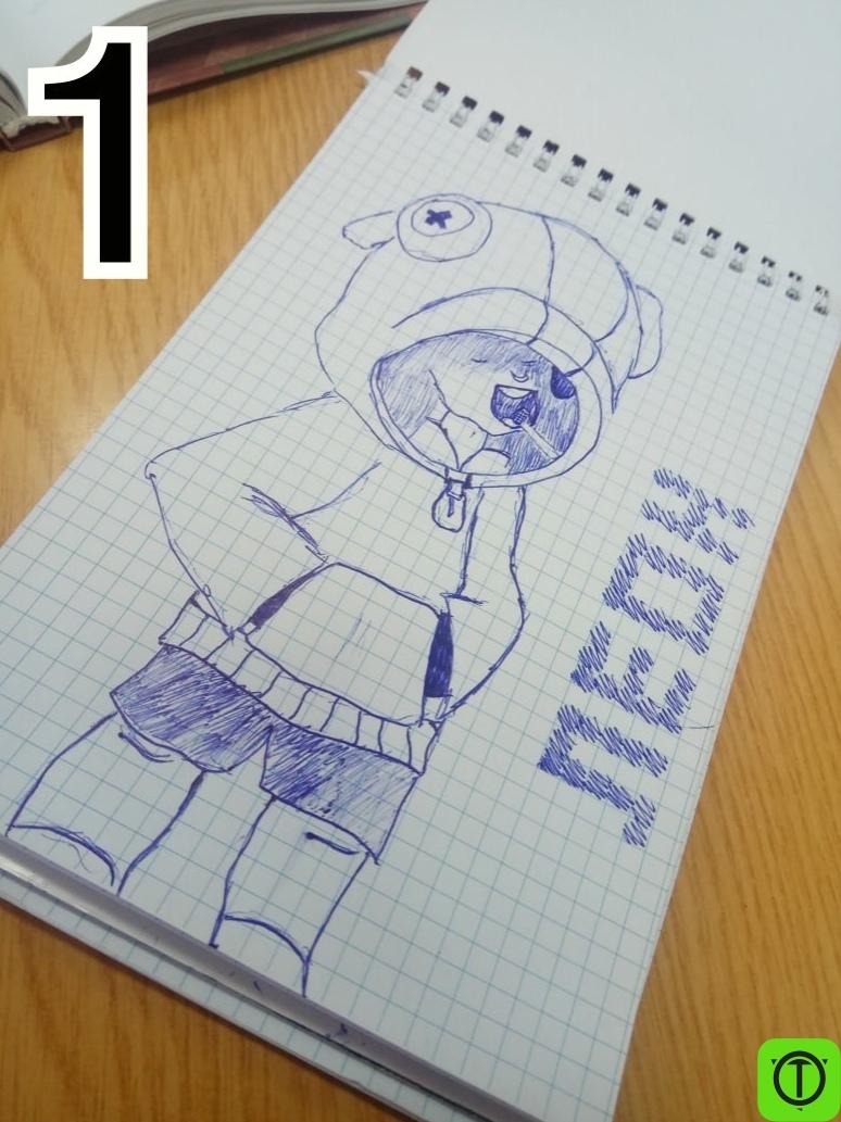 #Другое Наши подписчики нарисовали Леонов  Чей лучше?