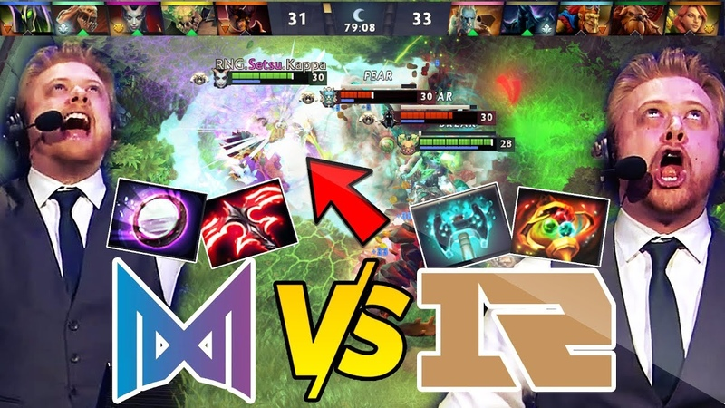 NIGMA vs RNG MOST EPIC GAME ON 7.23 FIRST TIME EVER 70 MIN T5 Neutral Items 30k Comeback Dota 2