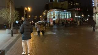 Митинг . Проход по Большой Покровской улице. Нижний Новгород
