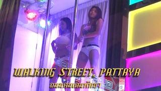 Walking Street, Pattaya, Thailand Sights and Sounds
