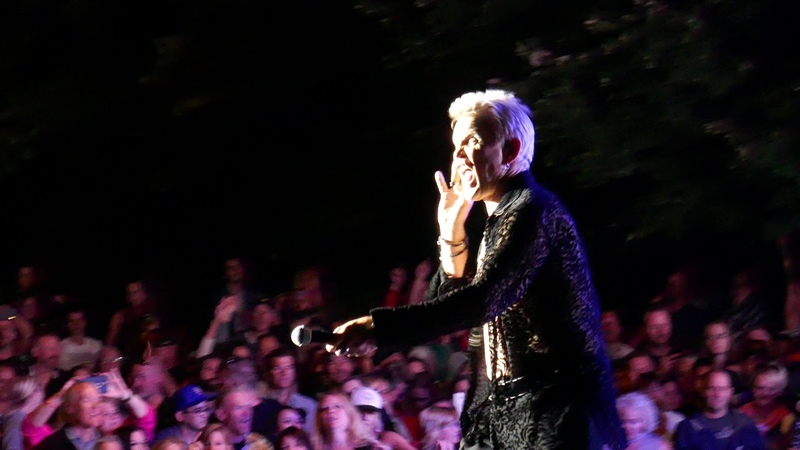 Billy Idol Mony Mony Live at Red Butte Garden SLC 9 17 2018