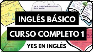 """Curso de inglés completo 1 - Inglés desde cero nivel básico para principiantes """"Yes en Ingles 1"""""""