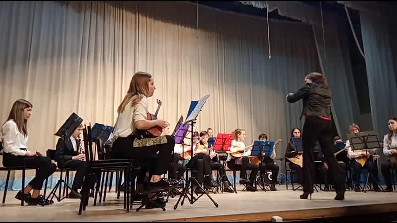 Международный конкурс КИТ. Оркестр Росинка
