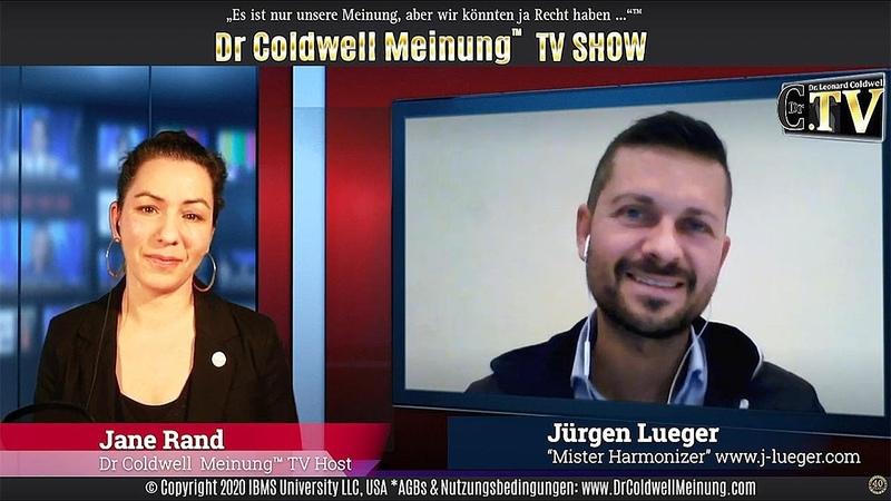 Dr Coldwell Meinung™ TV Show Jane Rand und Jürgen Lueger Ein gesundes glückliches Leben trotz 5G