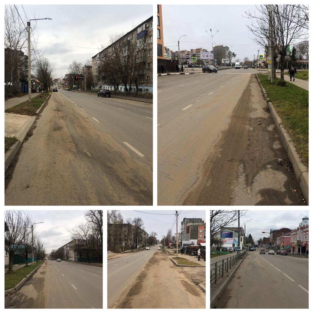 Кимряки негодуют: городские дороги заросли грязью, а дорогостоящая техника простаивает без дела?