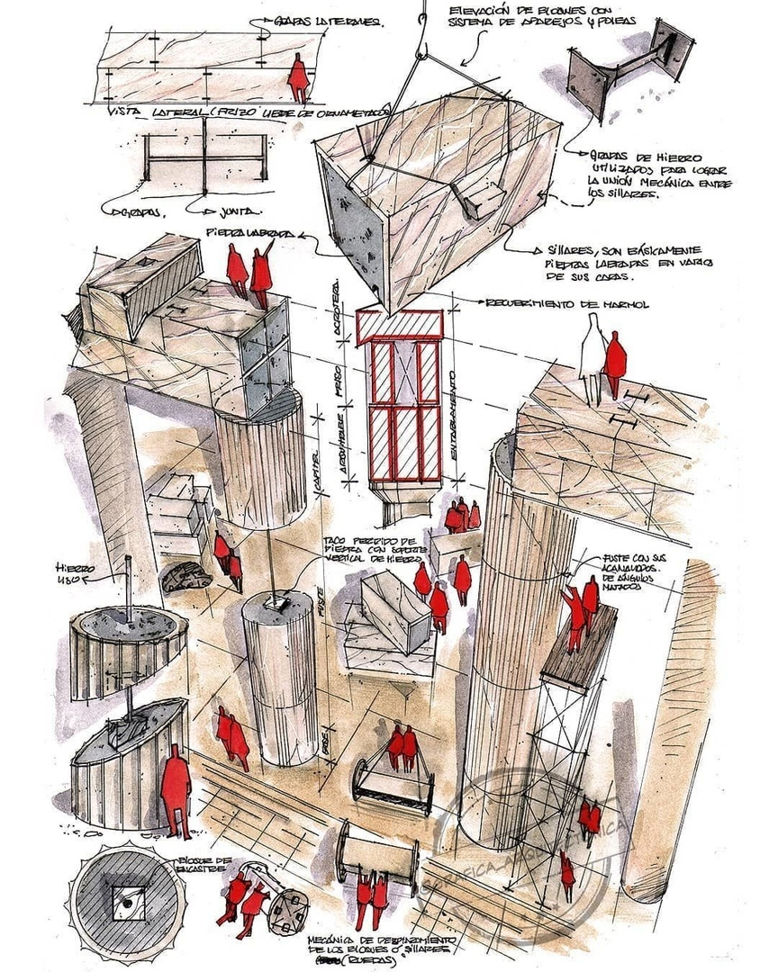 Конструктивные зарисовки от аргентинского архитектора