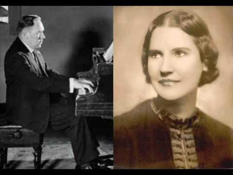 Kirsten Flagstad 1952 (Gerald Moore, piano) Uhland-Schubert Fruhlingsglaube Sung in German
