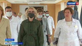 «Дорога жизни»: в крупной больнице Челябинска открыли теплый переход