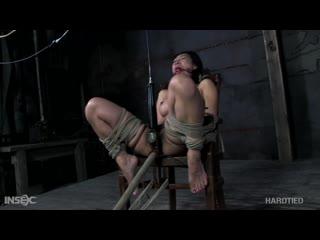 Связали и жестко трахнули силиконовую азиаточку Tia Ling  [2020 BDSM,Bondage,Hardcore,Anal Play,Blowjob,Dildo,Ball Gag,Ring Gag]