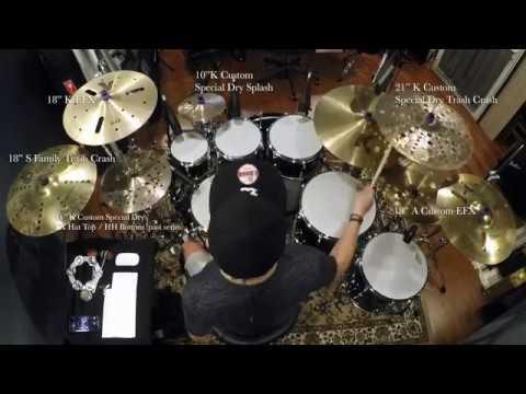 Wen-Shuo 文碩 - Zildjian EFX Cymbals Comparison