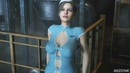 Resident Evil 2 Remake Claire Redfield The Hot Stewardess Outfit PC Mod