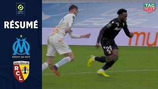 OLYMPIQUE DE MARSEILLE - RC LENS (0 - 1) - Résumé - (OM - RCL) / 2020-2021
