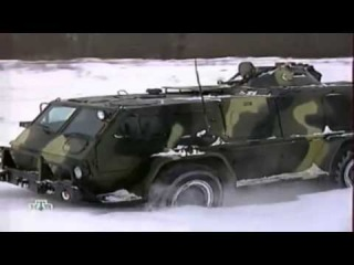 ГАЗ-3937 «Водник» _ GAZ 3937 «Vodnik» Highly mobile armored troop-carrier