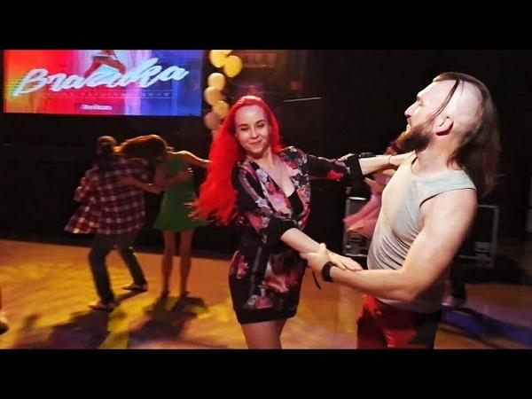 Brazuka 2019 Sergey Lobanov and Valentina Zouk improvisation