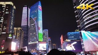 [4K]Night Walking Tour of Guanyin Bridge | Chongqing China Second Commercial District | 重庆观音桥夜景徒步之旅