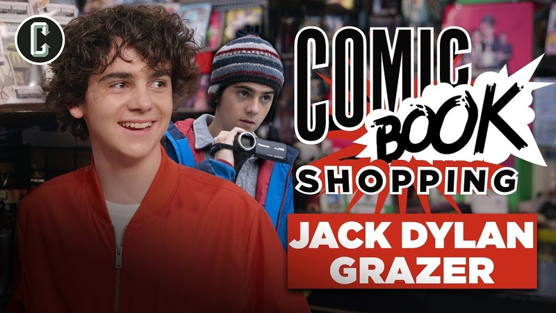 Shazam's Jack Dylan Grazer Goes Comic Book Shopping and Talks Batman, Joker Umbrella Academy