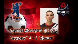 Гол: Дмитрий Чирков (11')