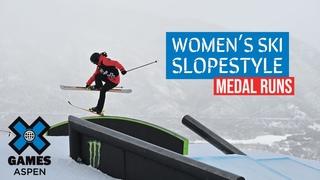 MEDAL RUNS: Jeep Women's Ski Slopestyle | X Games Aspen 2021