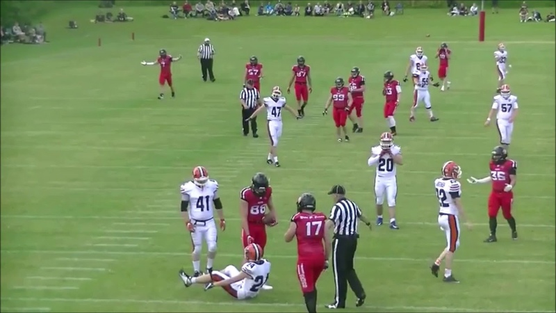 IFAF Training Tape 2020 Kick catch interference