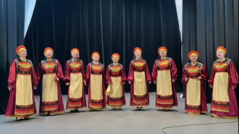 НСК хор русской песни Ладога (п. Рахья) 3. Я по жердочке шла