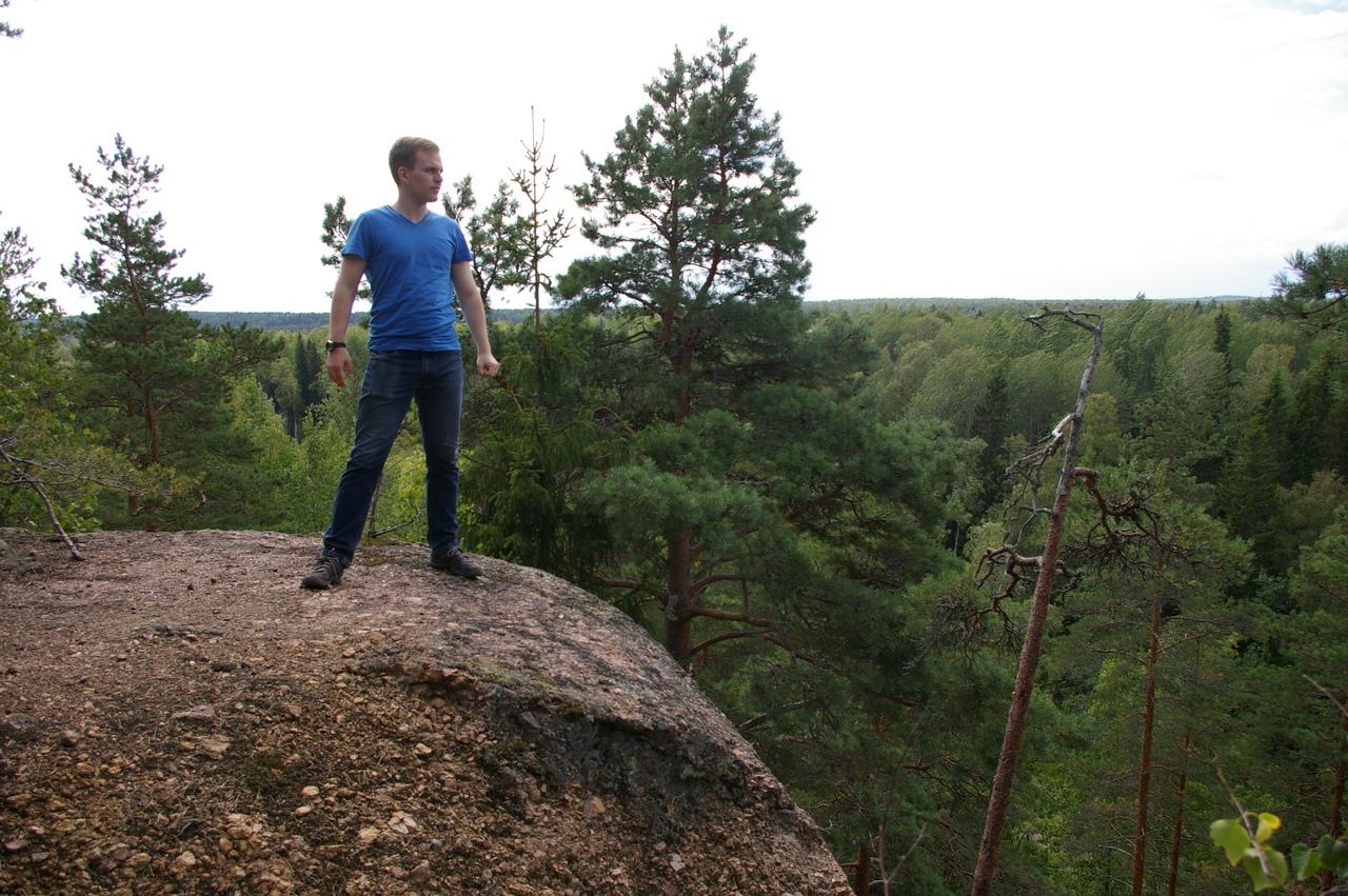 Бобринские скалы возле Выборга. Неизвестное царство красоты.