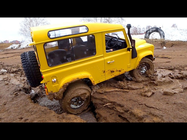 RC Trucks MUD OFF Road 4x4 Austar Land Rover Defender D90 Clone RC4WD Gelande — RC Extreme Pictures