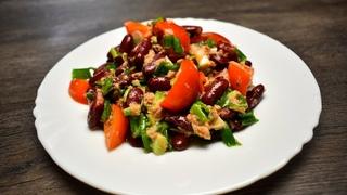 Все смешала и готово: один из моих любимых салатов, для которых не надо варить продукты
