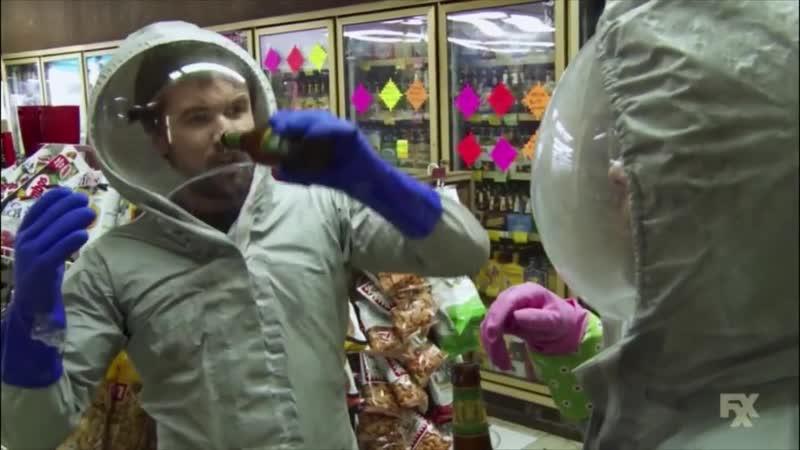 Мак и Чарли на Карантине эпизод в маркете В Филадельфии Всегда Солнечно
