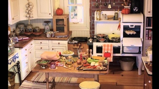 Thanksgiving Dinner 2014 in Kathleen's Dollhouse