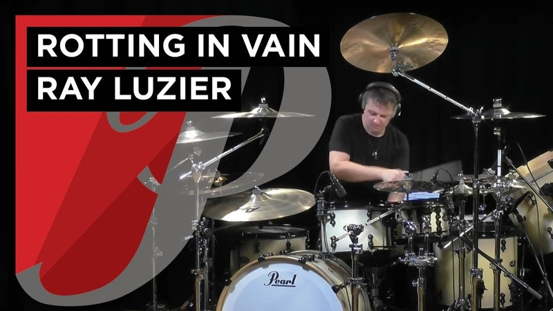 Ray Luzier playing the Pearl Masterworks kit Korn Rotting in vain