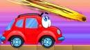 и про машинку Вилли игровое видео про красную машинку Wheelie веселое видео для
