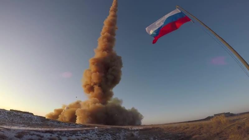 Очередной испытательный пуск противоракеты российской системы ПРО на полигоне Сары Шаган