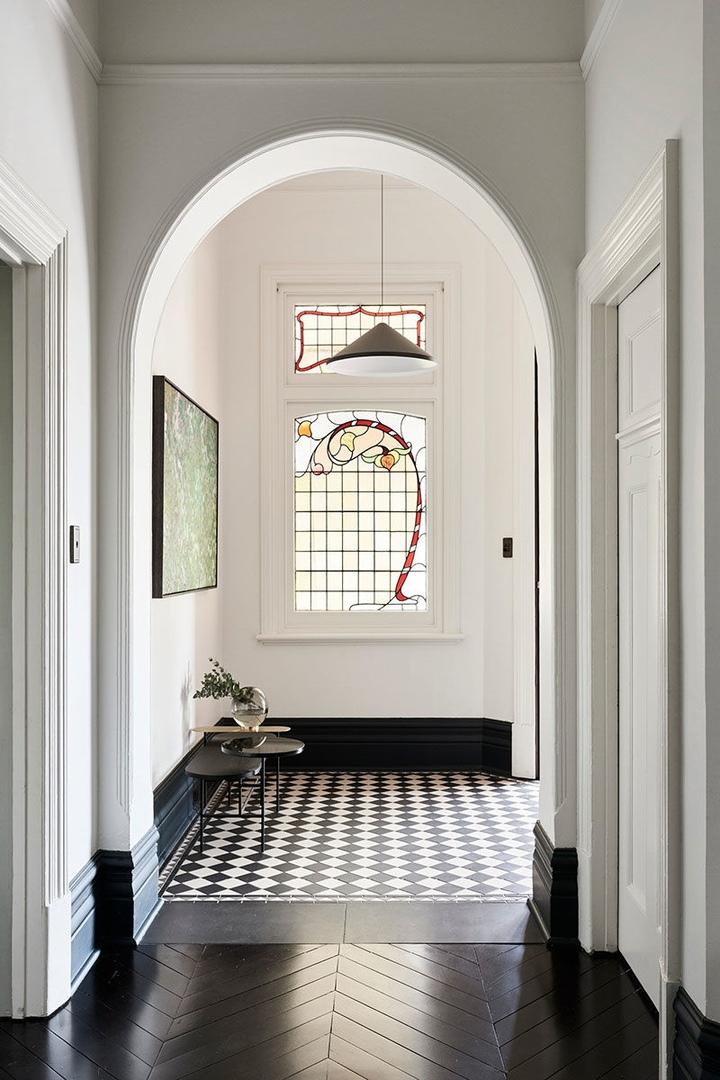 Стильная современная реконструкция старинного дома в Мельбурне  || 02