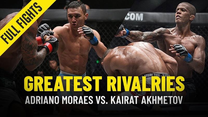 Adriano Moraes vs. Kairat Akhmetov | November 2015 August 2017
