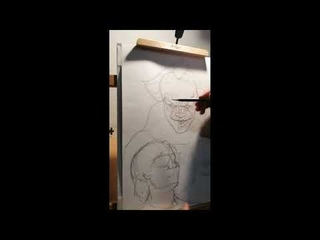 Оно, портрет Пеннивайза, Ричи и Беверли