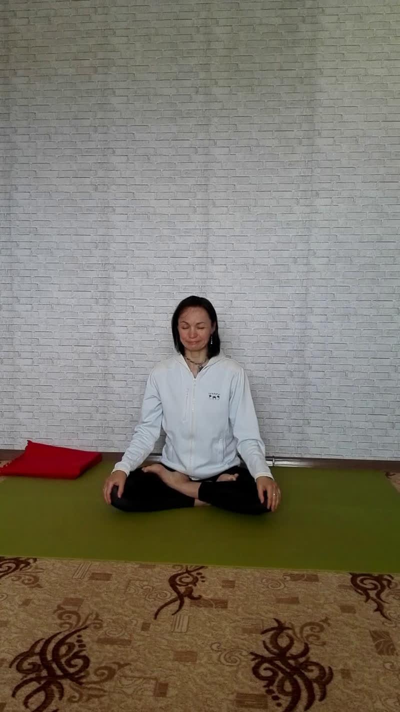 Прямой эфир. Утренняя практика хатха йоги