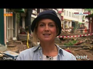 RTL-Fake-News: Moderatorin 'schminkt' sich mit Schlamm vor Live-Bericht aus Katastrophengebiet