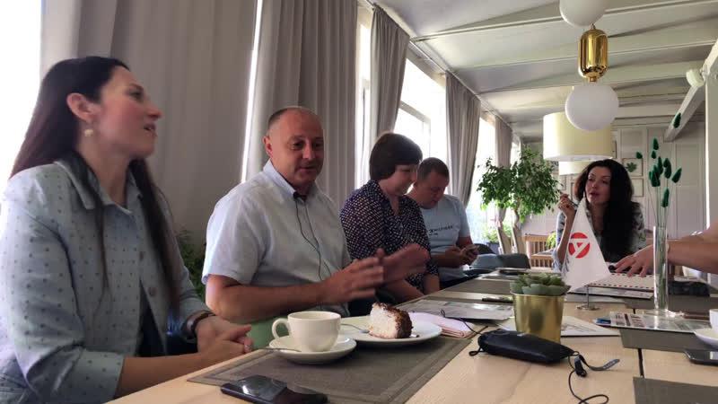 Бизнес завтрак Страхование жизни Бобрышев Алексей директор Страхового дома ВСК