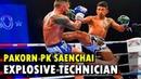 Pakorn PK Saenchai - Explosive Technician (Highlight) | Muay Thai