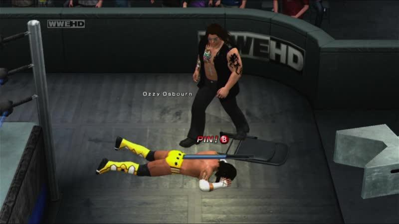 WWE SmackDown vs Raw 2011 Ozzy Osbourne vs CM Punk Gallows Оззи Осборн против СМ Панка Качество 11DeadFace