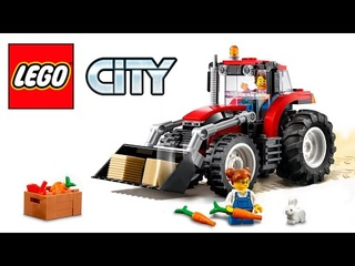 Lego City  60287  Tractor  💥  Speed Build Review