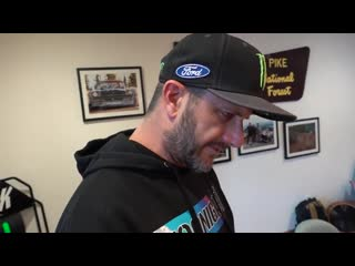 Ken Block's 1_8 Scale RC Shred Session. Around Real Racecars